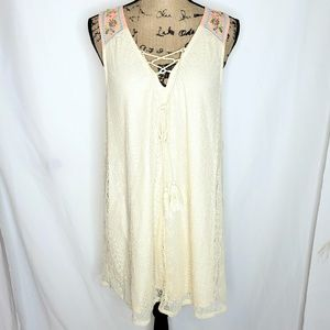 Flying Tomato | Boho Lace Tunic